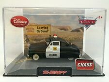 Disney Store Disney Pixar Cars CHASE SHERIFF Diecast Vehicle in Collector's Case