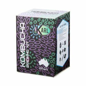 8 Litre Kombucha Brewing Kit Organic Scoby!