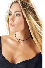 Halsband mit Goldring Schmuck Accessoires Halskette Gold Ring Kette