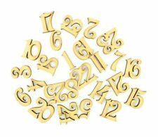 Wooden MDF Christmas Advent Calendar Numbers 1-25 Wood Craft Mini Number