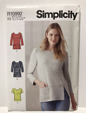 Misses Knit Tops in Two Lengths SZ 8 10 12 14 16 Sew Pattern 2021
