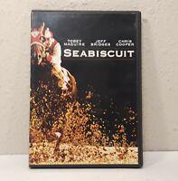 Seabiscuit (DVD, 2003) Jeff Bridges, Tobey Maguire