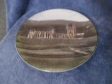 "Vintage Royal Doulton Balmoral Castle Plate 10 1/2"" Great Historic Plate"
