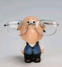 Grandpa Grandad Eyeglasses Eye Glass Glasses Holder Stand Nose Reading Spec Gift