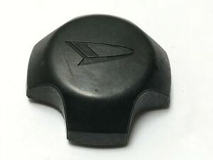 "Daihatsu OEM Wheel Center Cap Satin Black Finish Diameter 3.5"""