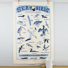 Nuevo Seasalt el Cornish Casa aves marinas algodón toalla de té aves costeras Cornwall
