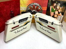 🔥Genuine Harley 93-13 Touring Sheriff Police Saddlebags Hardware OEM🔥