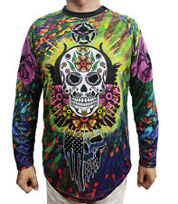 Skull Downhill Cycling Jersey Motocross Jacket Pro Bike Ghost Shirt Bicycle Top