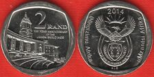 """South Africa 2 rand 2014 """"Union Buildings"""" UNC"""