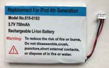 Replacement battery for Apple IPod Classic 4th Generation