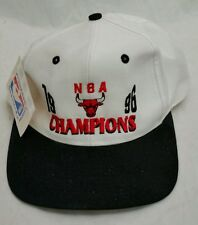 Snapback Hat Chicago Bulls Champions 1996 NBA Vintage Basketball Cap with Tags!!