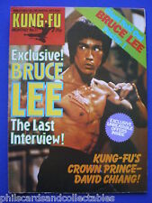 Kung Fu Monthly No. 11   Bruce Lee    ' Postermag '   1970s