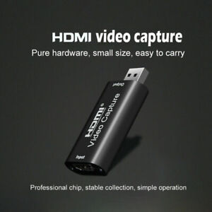 HDMI to USB2.0 Recorder Device 1080p HD For Live Streaming Video Conference UK
