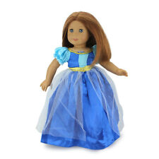 Ice Frozen clothes for American girl doll of 18 inch doll accessories