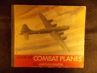 Book of Combat Planes by Harold H. Booth (Hardcover, 1944)
