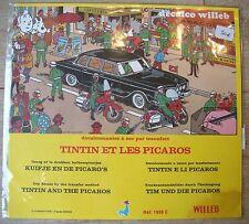 DECALCO WILLEB HERGE TINTIN ET LES PICAROS 1978