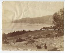 Two Vintage Photographs, Gaspe Quebec by William Notman, 19th Century