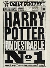 HARRY POTTER UNDESIRABLE NO.1 GREETING CARD DAILY PROPHET NEW GIFT
