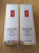 Elizabeth Arden Flawless Finish Perfectly Nude foundation Chestnut 26 2 x 30ml