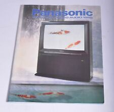 PANASONIC TELEVISION / AUDIO / VIDEO PRODUCT CATALOGUE 1988