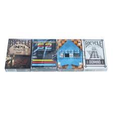 Playing Card Gift Set Cinema VHS Retro Console Domino 4 Decks