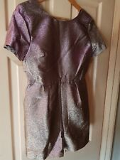 BNWT Womens Next Glitter-Effect Shorts Playsuit. Size 10 Petite.