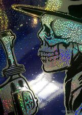Foo Fighters Black Velvet Mini Gobstopper Variant Screen Print Zoltron Signed