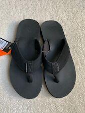 New Quiksilver Costal Oasis 2 Flip-Flops Sandals Beach Casual Black Uk9 Us10