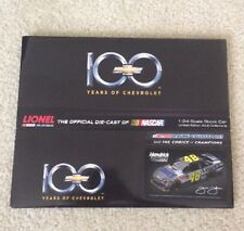 48 JIMMIE JOHNSON 2011 LOWES CHEVY 100TH ANNIVERSARY 1/24 REPLACEMENT SLEAVE