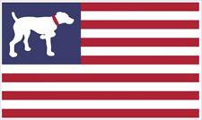 Gsp German Shorthair Pointer American Flag Vinyl Window Decal Sticker