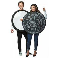 Oreo Cookie Costume Adult Couples Funny Halloween Fancy Dress