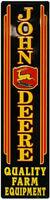 John Deere Vintage Metal Sign 48 inch by 12 inch Free Shipping