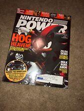 Nintendo Power Volume 195 Shadow the Hedgehog Cover w/ Advanced Wars Poster