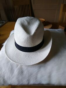 New Marks & Spencer Gents Panama Hat S - 6 3/4 - 6- 7/8 RRP £49.50