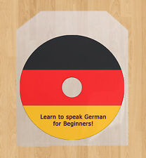 Learn how to speak German language talk course CD 6 hrs of lessons Germany +PDF