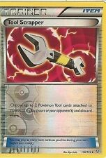 POKEMON BLACK AND WHITE DRAGONS EXALTED - TOOL SCRAPPER 116/124 REV HOLO