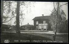 Sweden ~ Svede ~ 1900's Sunne Skinnargarden ~ Real Photo Pc Rppc