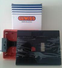 GEWISS GW 40226 CENTRALINO NERO TONER 8 MODULI IP40