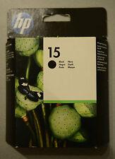 (PRL) HP 15 CARTUCCIA INCHIOSTRO INK CARTRIDGE NERO BLACK C6615 DE SCADUTE LOTTO