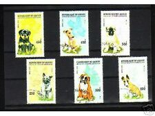 0927++GUINEE   SERIE TIMBRES  CHIENS  N°2