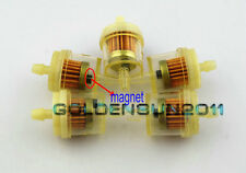 "5x BMW Motorcycle Clear Inline GAS Carburetor Fuel Filter 1/4"" 6mm 7mm MOTOR Z6"