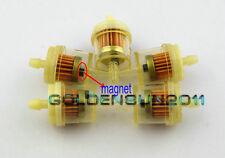 "5x CAN AM ATV DIRT BIKE  Inline GAS Carburetor Fuel Filter 1/4"" 6-7mm MOTOR Z13"