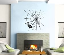 Wall Sticker Vinyl Decal Spider Web Funny Animal Cartoon Kids z483