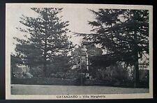 CATANZARO: Villa Margherita 1933
