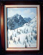 Kay Williams Original on Canvas framed