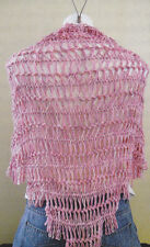 Crochet Pattern ~ HAIRPIN LACE SHAWL ~ Instructions