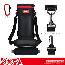 "KORA 12.2x4.9"" Lens Pouch Bag for Sigma Tamron A011 A022 150-600mm & JBL Xtreme"