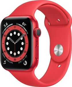Apple Watch Series 6 (GPS) 44mm - Factory Sealed - Factory Warranty - RED