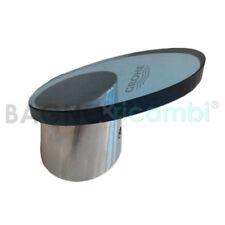 Palanca apertura agua bidé cristal cromo azulado 46371IM0 para Tarón Grohe
