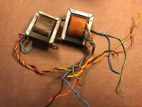 Vintage Fisher 49-A OUTPUT TRANSFORMER PAIR 1960s for Germanium T1135C116